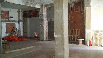 Estado de local antes de apertura de unas oficinas licencia de obras