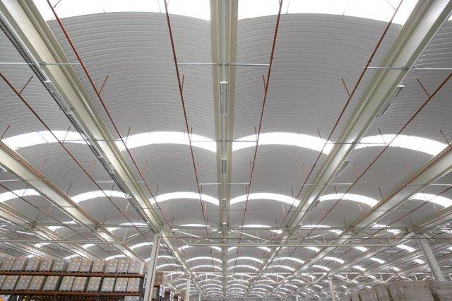 Proyecto de construcción de nave logística en Zaragoza