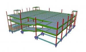 Diseño estructura y cimentación para supermercado en Leioa