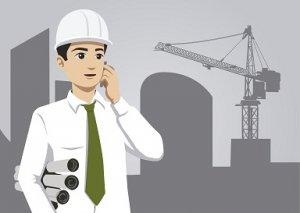 ingeniero con proyectos de ingeniería