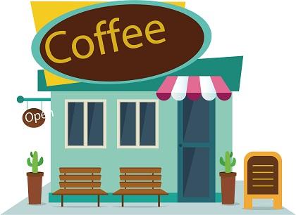 Licencia de apertura de una cafetería