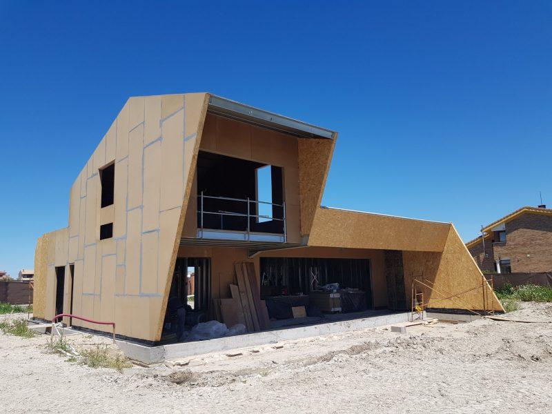 Construcción vivienda con estructura Steel Frame en Valladolid