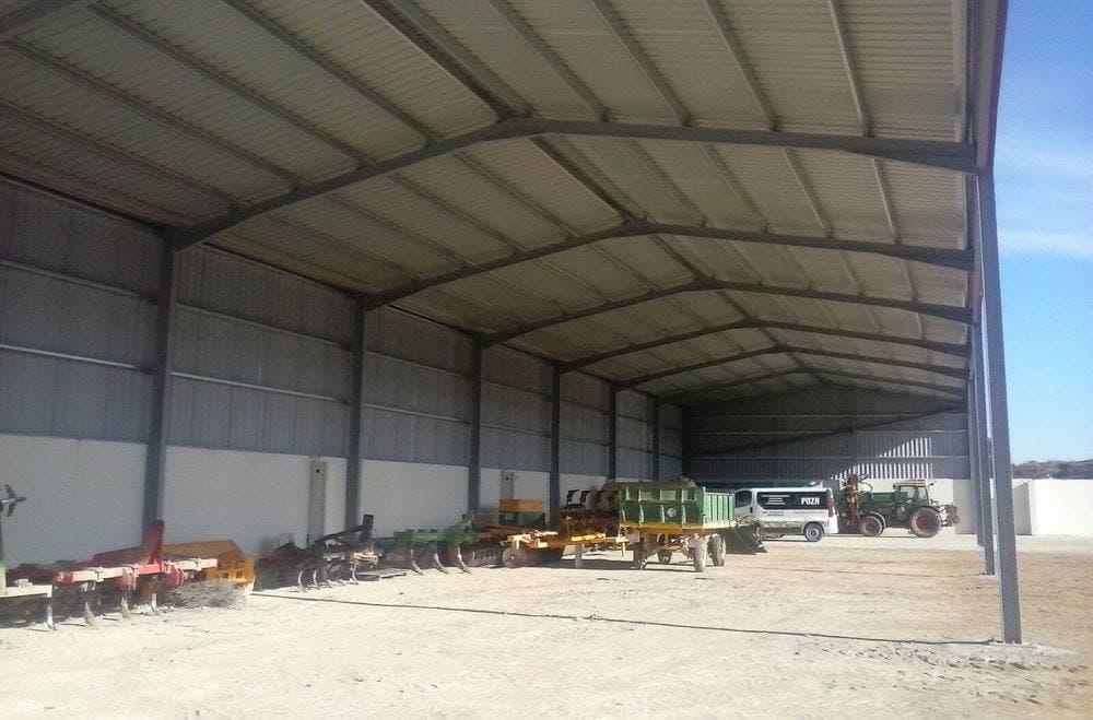 proyecto y construcción de cubierta en Zaragoza