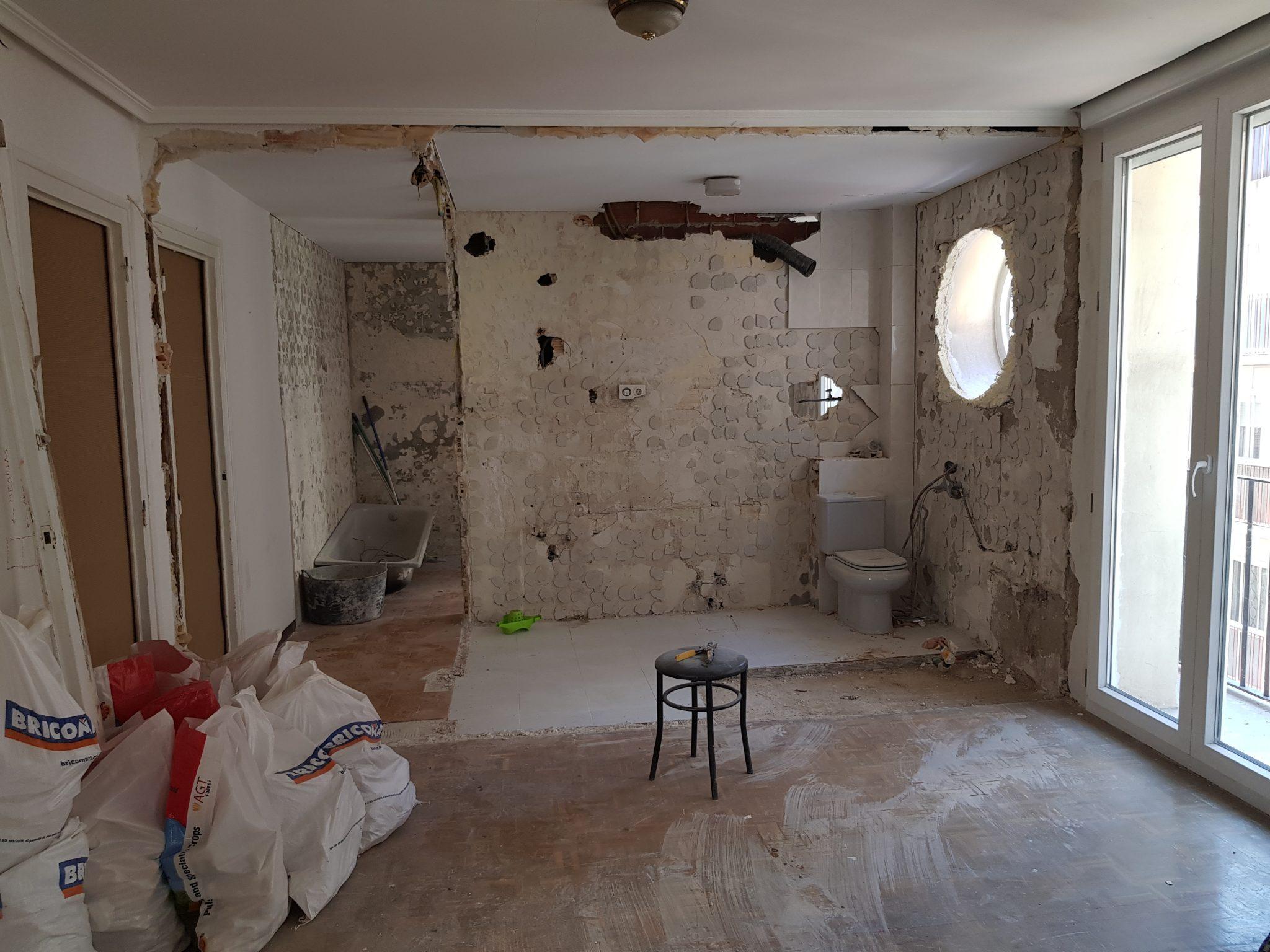 reforma integral de piso